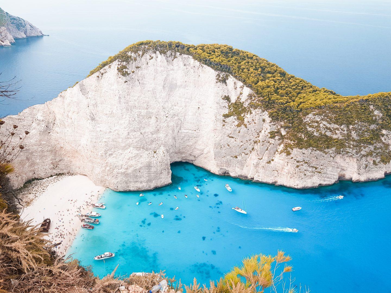 Grecia: Zante e l'isola delle tartarughe